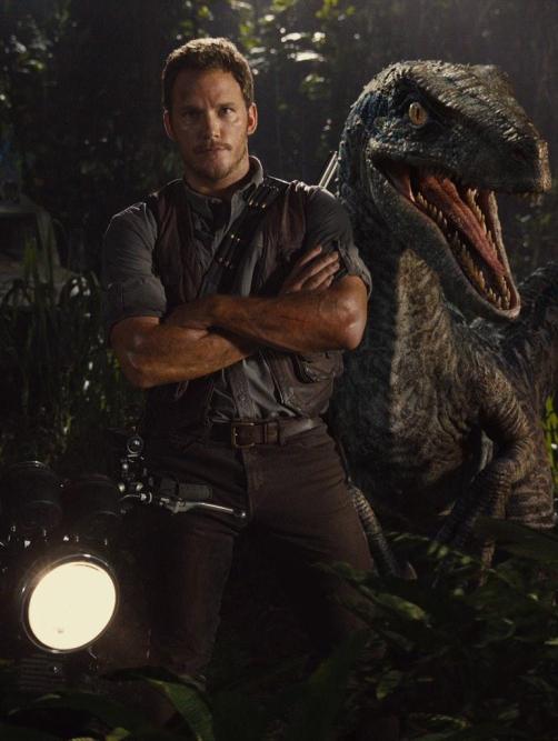 Jurassic-World-New-Image-Chris-Pratt-Raptor